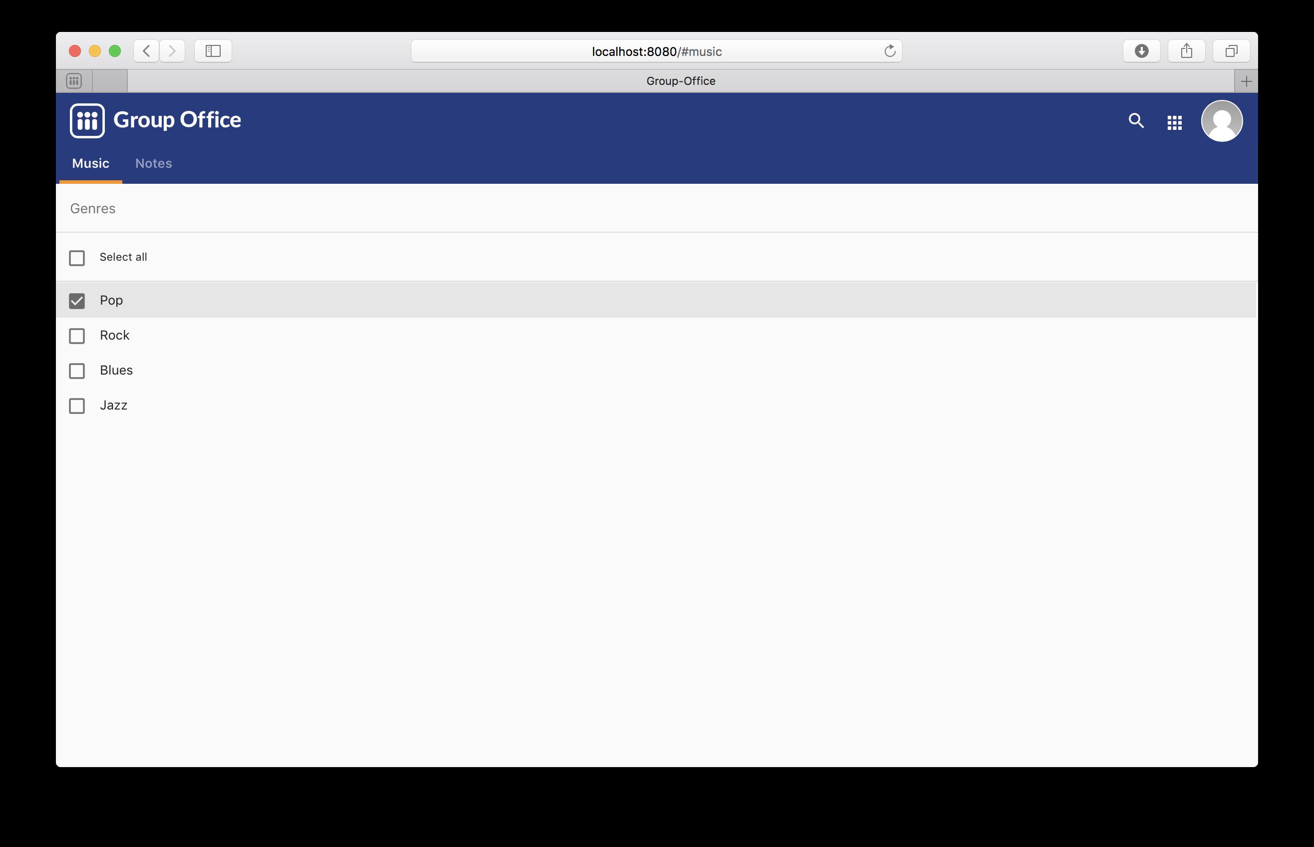 Building a webclient module — Group-Office documentation